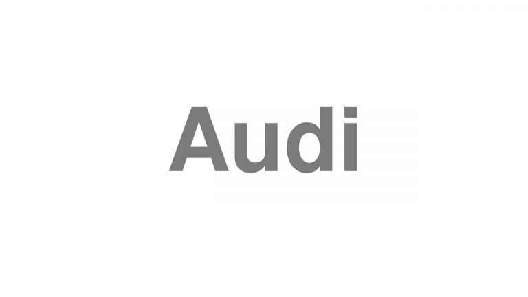 How To Pronounce Audi >> Pronounce How To Pronounce Every English Word Correctly Part 343
